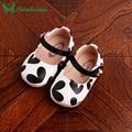 0-dois anos de Idade Do Bebê Recém-nascido Sapatos de Bebê Do Sexo Feminino Verão Criança Princesa Sapatos Fundo Macio Crianças Caminhantes Da Menina de Couro PU