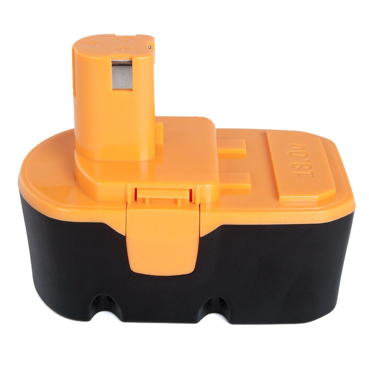 2 шт. для Ryobi P100 Замена ноутбука Батарея 3000 мАч аккумуляторная Powertools Батарея для Ryobi P102 P103 P104 P105 P107 P108