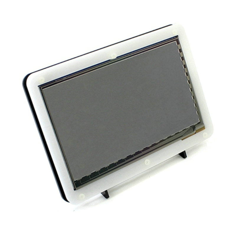 Raspberry Pi 7 inch HDMI LCD Display with Acrylic Case with 800 480 Capacitive Touch Screen