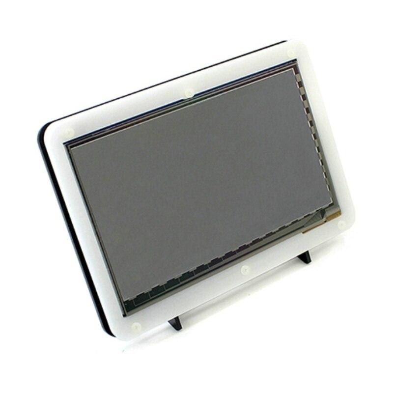 bilder für Raspberry Pi 7 zoll HDMI LCD Display mit Acryl Fall mit 800*480 kapazitiven Touchscreen Raspberry Pi 3 RPI 2 Banana Pi/Pro