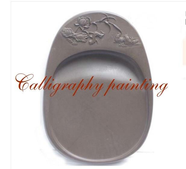 Chinese Zhaoqing Song Keng Inkstone Duan Yan Calligraphy Painting Tool 14304