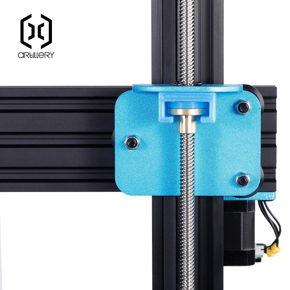 2019Newest Artillery Sidewinder X1 3D Printer Ultra-quiet Driver TFT Touch Screen Dual Z axis Resume