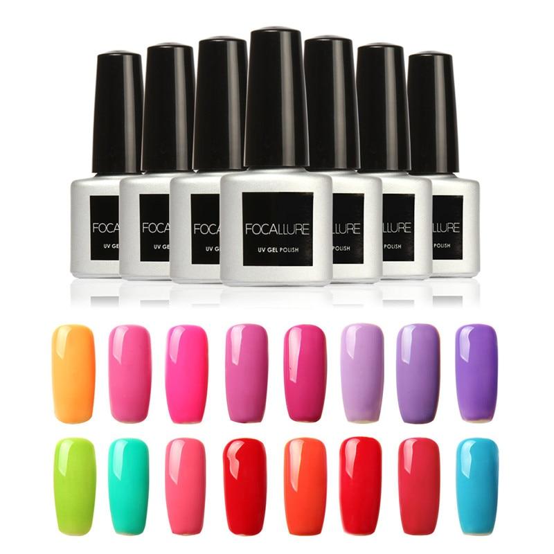 7ML Fashion Color UV Gel Long Lasting Orange Color Nail