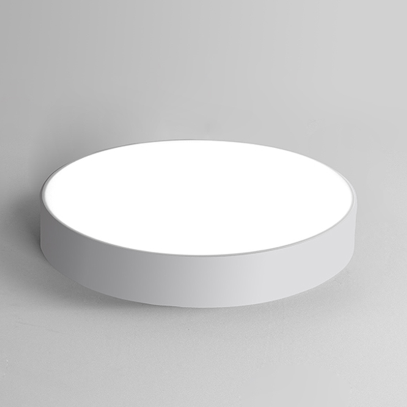 Modern Minimalism LED Ceiling Light lamp Creative Personality Round Indoor Ceiling Lamp Dining Room Home Black/White AC85-265V kinfire circular 6w 420lm 6500k 30 x smd 3528 led white light ceiling lamp w driver ac 85 265v