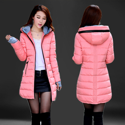 Cheap Wholesale Waterproof Autumn Winter Fashion Casual Women Overcoat Warm Jacket Thick Long Lady Coats Female Warm Parkas