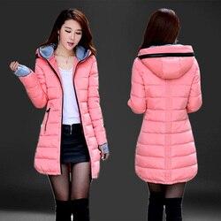 Cheap wholesale waterproof Autumn Winter fashion casual women overcoat warm jacket thick long Lady Coats female warm Parkas
