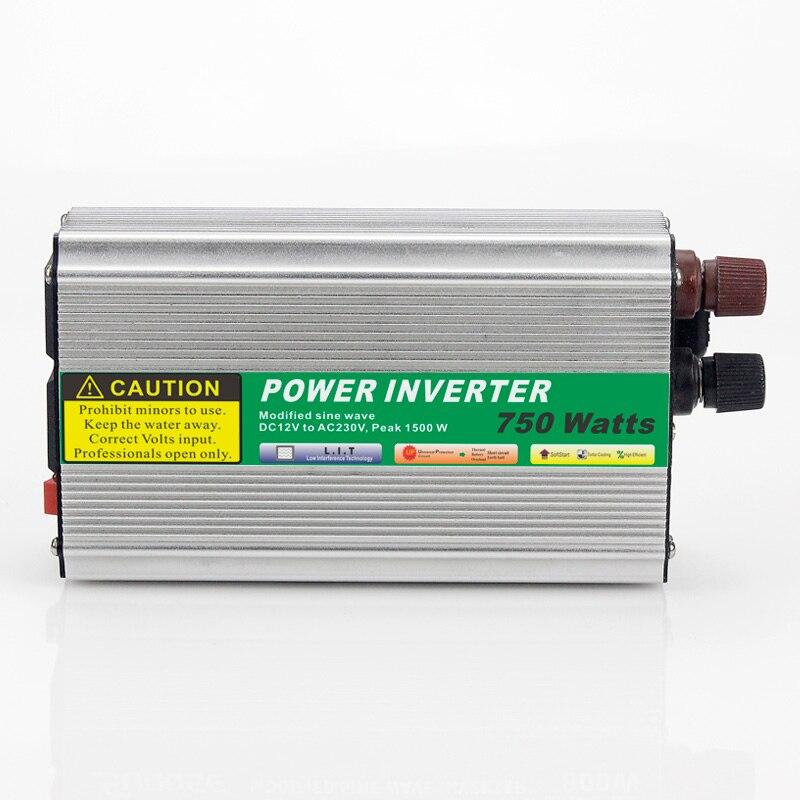 ФОТО 1pcs 750W Mini Size Car Power Inverter Converter DC 48V to AC 110V or 220V Modified Sine Wave Power Solar inverters