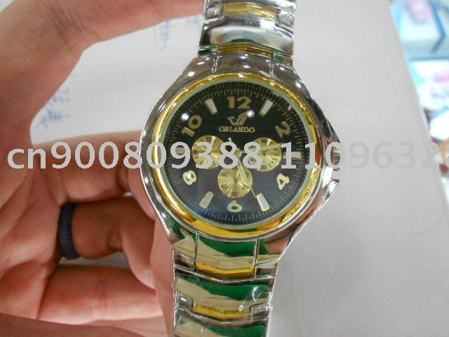 Free Shipping!*3PCS / 1pack Special Men Ladies Quartz Analog Dial Band Wrist Watches Best Christmas Gift&Retail Goods*