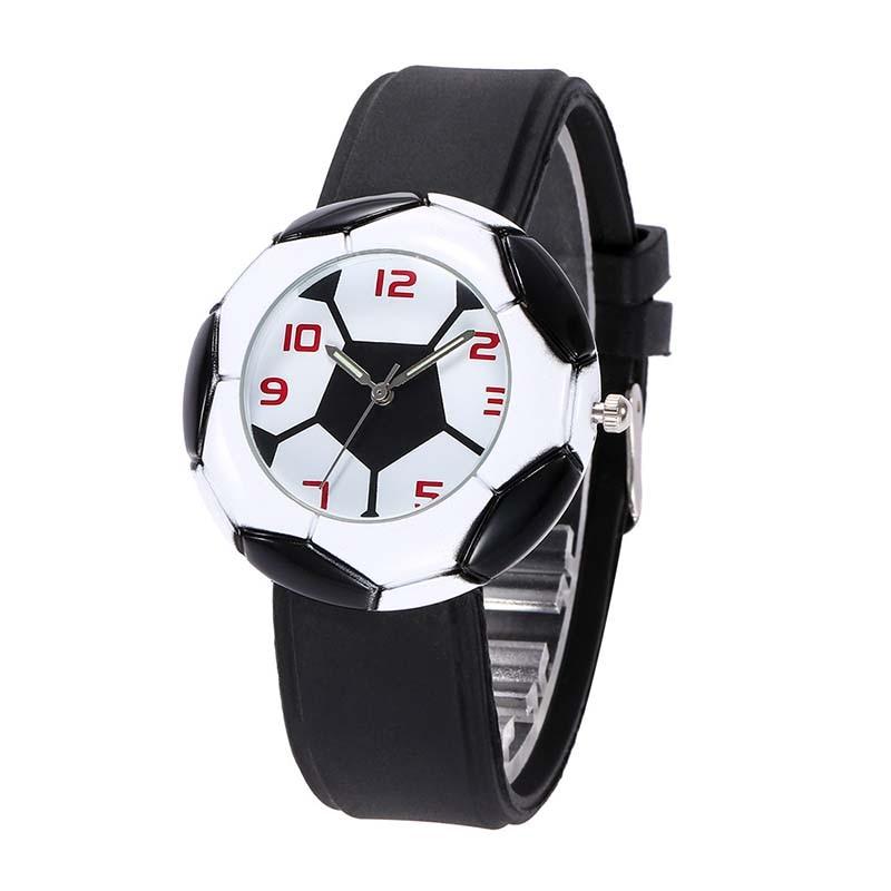 2018 Football World Cup Football Soccer Pattern Quartz Watch Unisex Sport Wristwatches Soft Comfortable Watch Gift For Men Teens