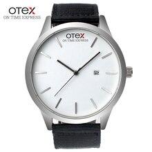 watch men s top luxury brand men s canvas watch Nylon popular quartz sports watch Men