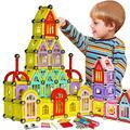 200 unids Magnético Pequeño Edificio De Ladrillo Regalo Diseñador de Juguetes bloques de Construcción Bloques de Construcción Para Niños K
