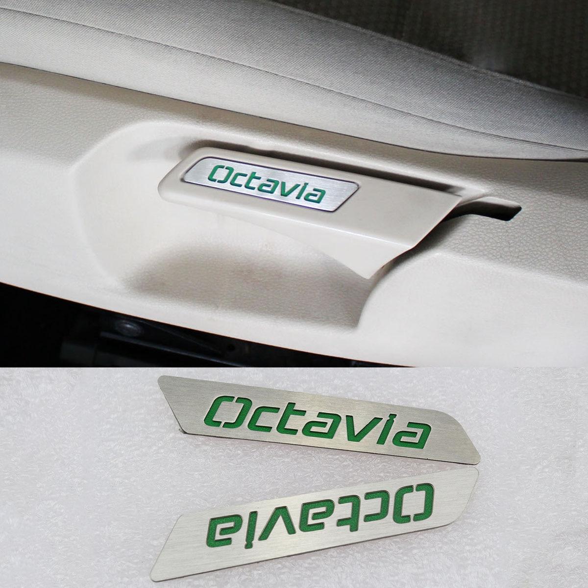 Stainless Steel Green Seat Lift Wrench Insert Trim for VW Skoda Octavia sheer insert frill trim blouse