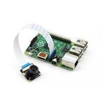 Waveshare Raspberry Pi Camera Module G Adjustable Focal Fisheye Lens 5 Megapixel OV5647 Sensor Supports all Raspberry Pis