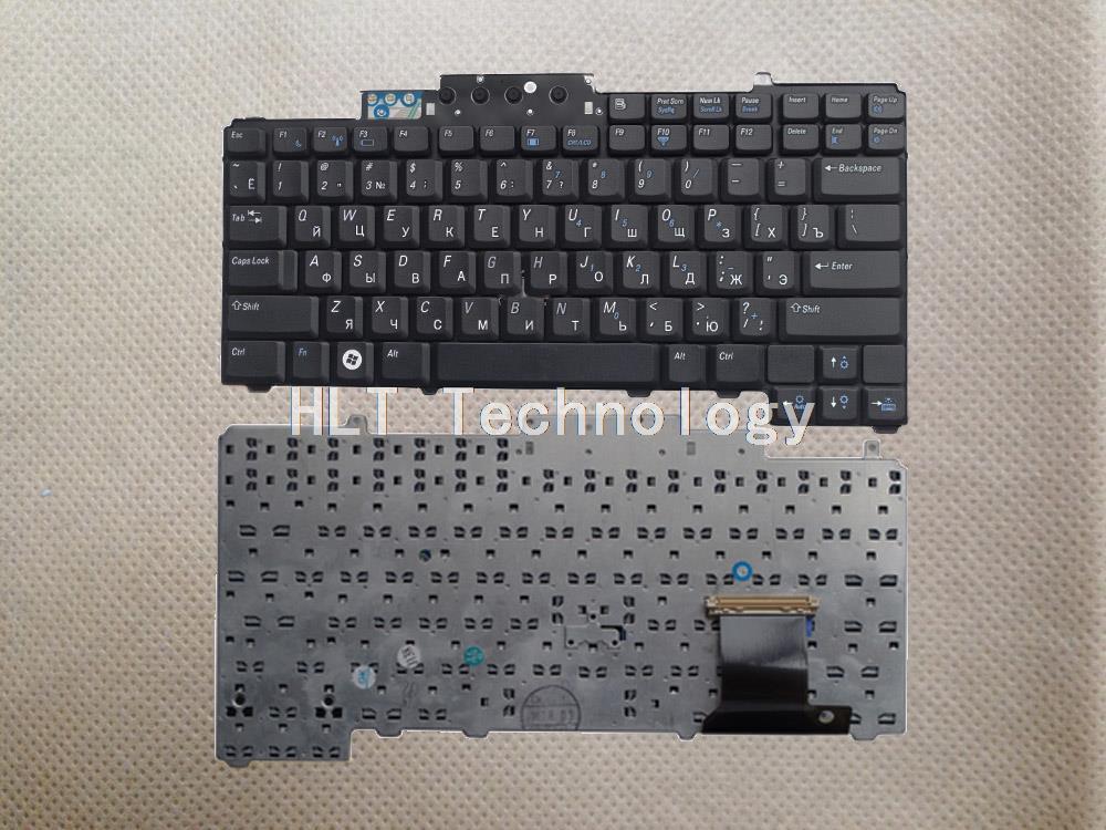 Bescheiden Originele En Nieuwe Zwarte Russische Toetsenbord Voor Dell D620 D630 D631 D820 M65 D830 Pp18l Goede Werk!