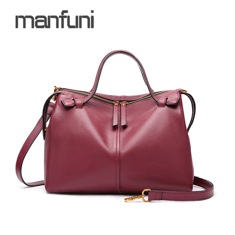 Womens Handbag High Quality Genuine Leather Top-Handle Bags Large Messenger Crossbody Bag For Women Zipper Ladies Hand BagsWomens Handbag High Quality Genuine Leather Top-Handle Bags Large Messenger Crossbody Bag For Women Zipper Ladies Hand Bags