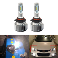 Led Headlight Replacement Bulbs For Honda Civic Coupe and Sedan 2006 2012 Low Beam Super Bright Driving Headlamp Lights