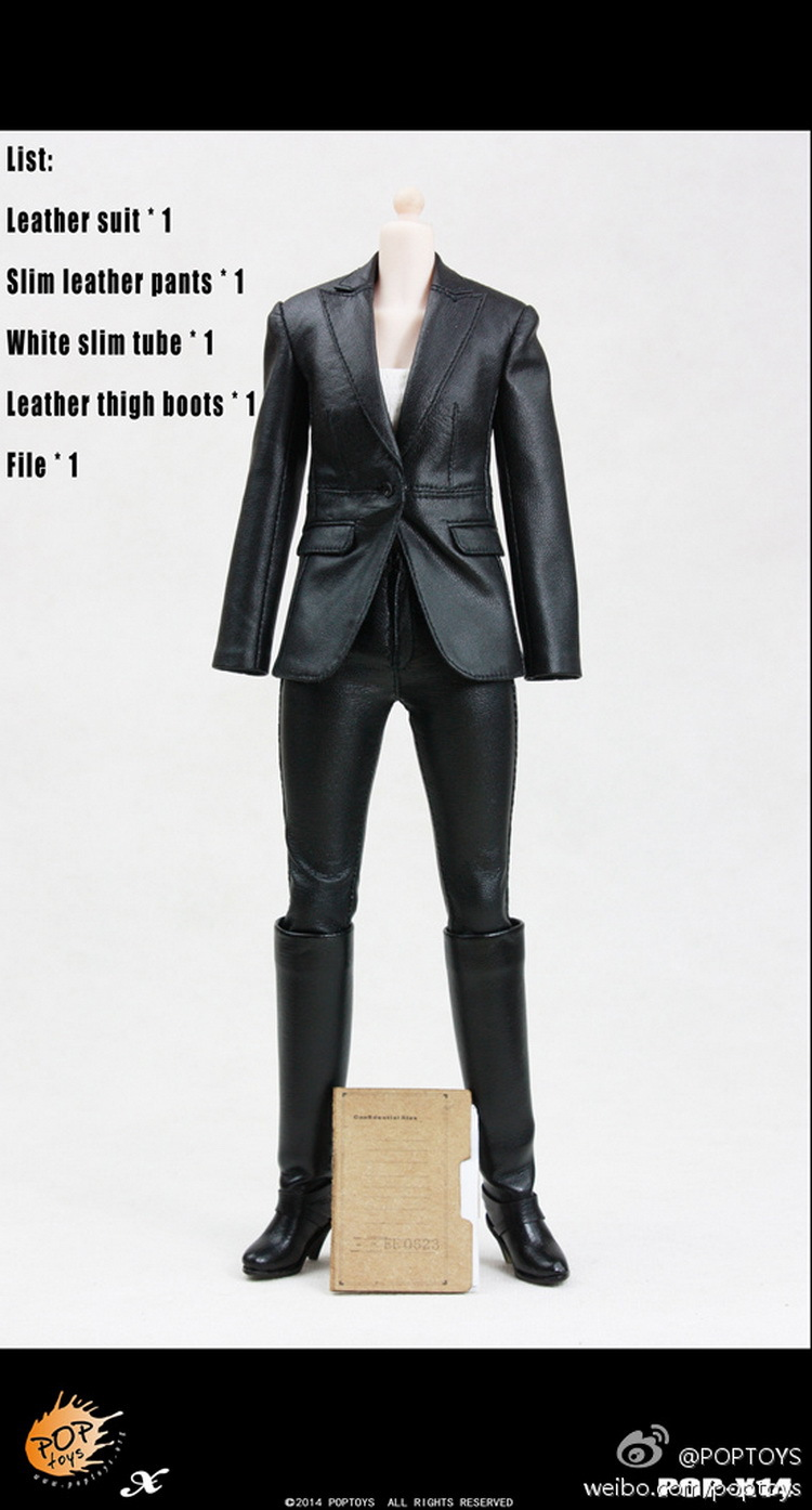 1/6 scale figure doll clothes female Leather suit for 12 Action figure doll accessories.not include doll and other No189 1 6 scale figure doll clothes male batman joker suit for 12 action figure doll accessories not include doll and other 1584