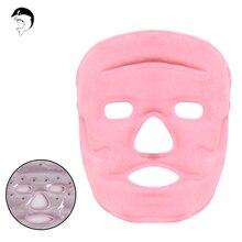 Гель магнит лица глаз маска для лица Лед Горячий кожи потепления Массаж Уход пакет маска для глаз для предотвращения чехол кантуса морщины маска
