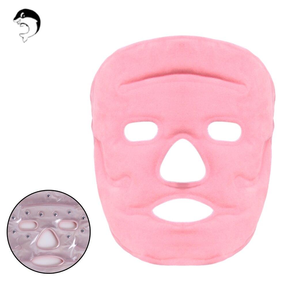 Gel Magnet Gesicht Auge Maske Gesichts Eis Heißer Haut Erwärmung Massage Pflege Pack Auge Maske Zu Verhindern Beutel Augenwinkel Falten maske