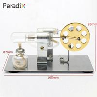 Engine Motor Stirling Hot Air Engine Fantastic Perpetual Alloy Generator External Combustion Science Toys Adult Hot Air