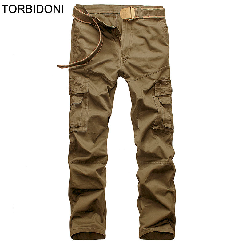 Tactical Pants Men Cotton Military Cargo Pants City Spring Army Combat Cargo Pants Casual Soldier Train
