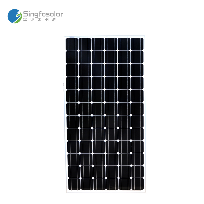 New Arrival Solar Panel 200w Monocrystal Solar 24v Battery