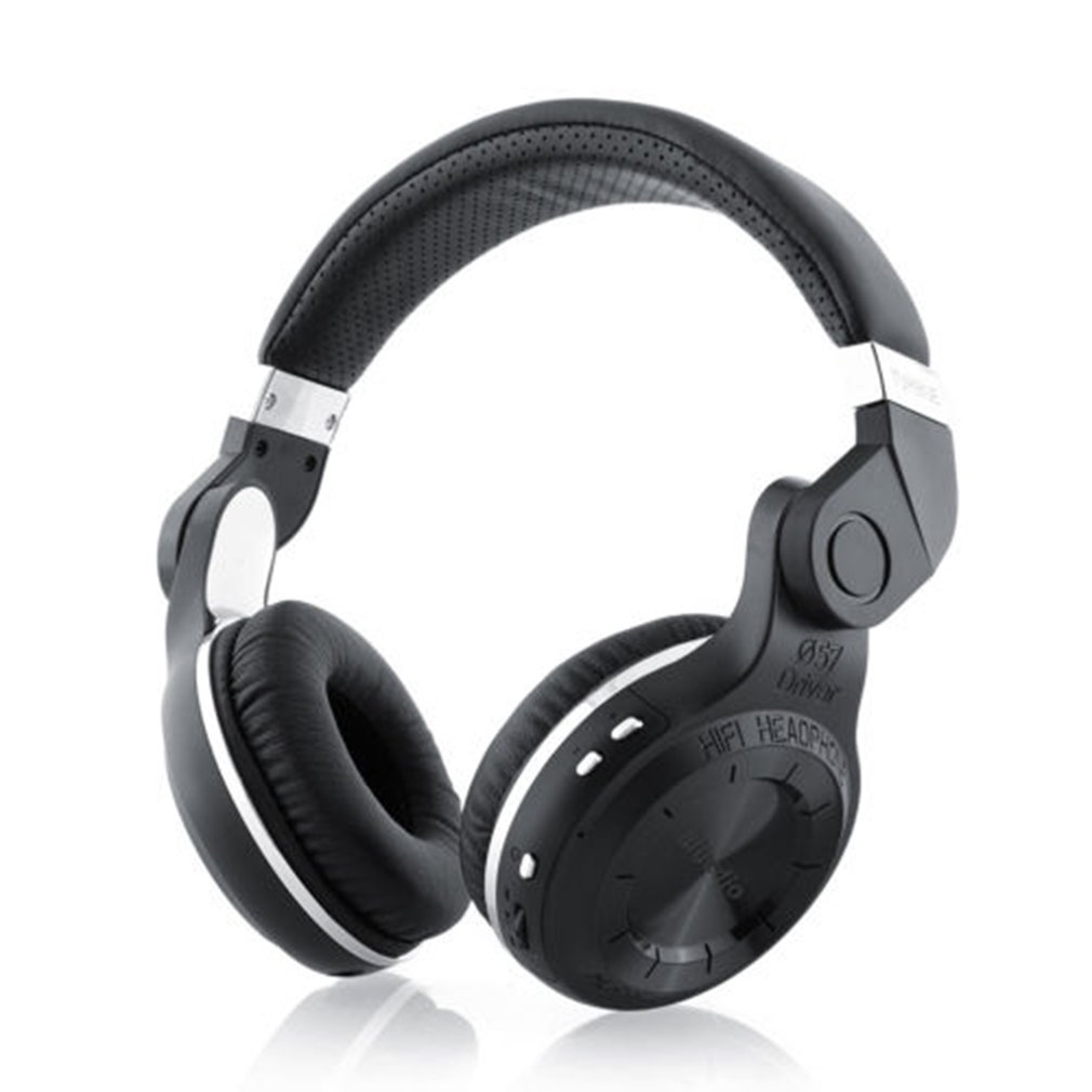 Casque sans fil Bluedio T2 Turbine ouragan 4.1 casque sans fil haut de gamme sport Hifi Binaural casque sans fil