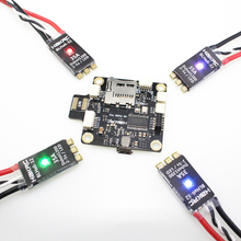 F4 Flight Controller OSD Integrated PDB 4 PcsBLHeli_32 Bit 35A 2-5 S ESC Built-in LED for FPV Quadcopter RC betaflight mini f4 fliegen turm vorbei maschine flight control 4 in 1 30a esc integrierte osd 5 8g fpv sender