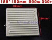 Factory Shipping Heating Plate Far Infrared Ceramic Heating Brick BGA Rework Station Dedicated 180 180MM 800W