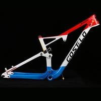 Costelo 29er Full Suspension Carbon Frame Carbon MTB Frame 29er Mountain Bike Carbon Frame 142*12mm Thru Axle 165*38mm Travel