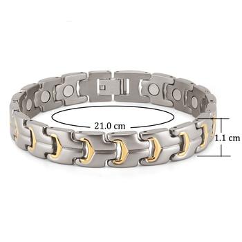 Men Bracelet Health Energy Magnetic Bracelet  2
