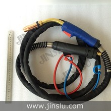 CO2 Water cooled Mig Mag welding torch aircooled MB 501D 3m Adapter EURO Inverter welder