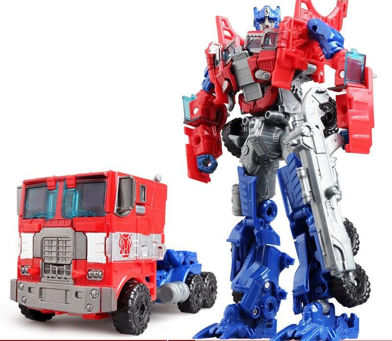 """Лидер продаж 19,5 см модель Трансформация Робот автомобиль экшн игрушки пластиковые игрушки Фигурки игрушки лучший подарок для образования детей 7,5"""" - Цвет: NO.1"""
