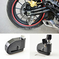 8mm Preto Motocicleta Da Bicicleta Da Roda Da Bicicleta do Freio de Disco Trava de Segurança do Alarme Auto-Braço 100dB