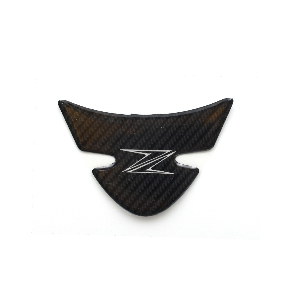 Carbon Fiber 3D Motorcycle Sticker Moto Gas Fuel Tank Protector Pad Cover Decoration Decals For  KAWASAKI Z1000 2012-2017