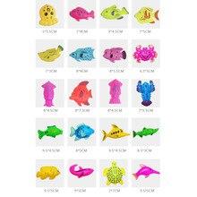 80 шт. Магнитный заводь для рыбной ловли пляжная игрушка набор образовательных игрушек с корзиной для детей