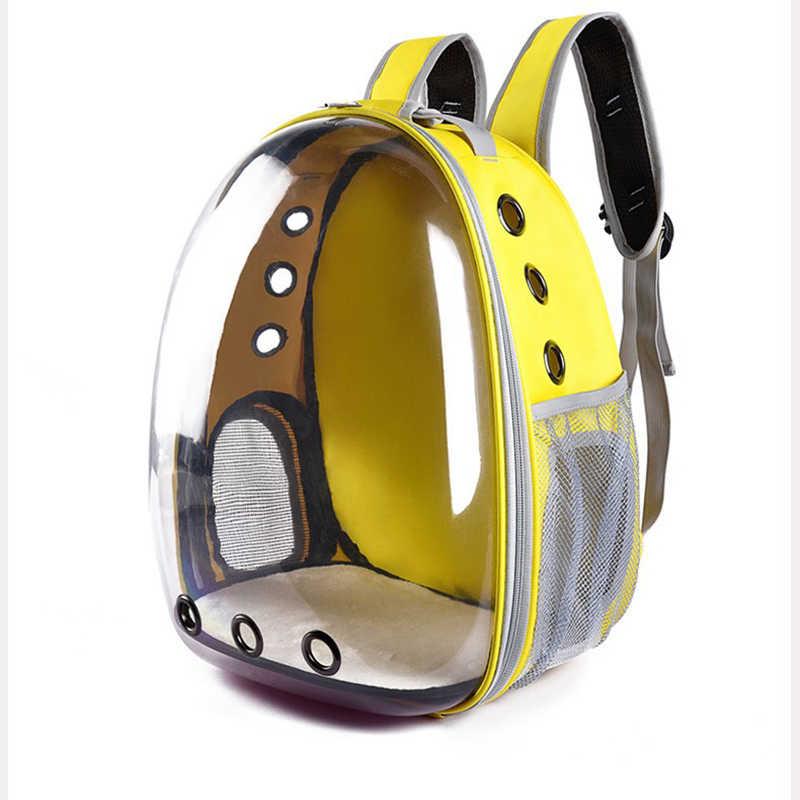cf5270a701a5 Pet сумка собака плеча рюкзак кошка плеча рюкзак Pet Travel панорамный  пространства мешок Портативный дышащая прозрачный
