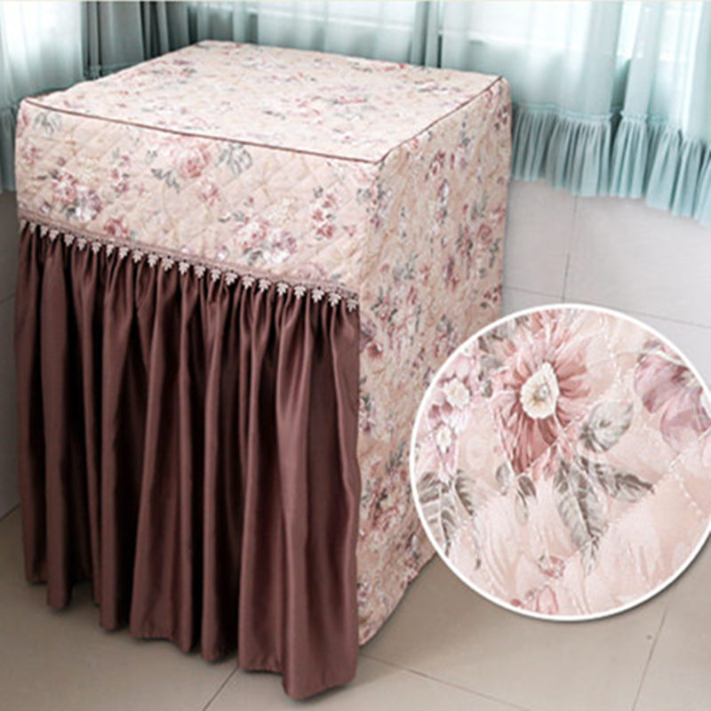 Hot Washing Machine Covers European style washer cover elegant dust proof washing machine towel home textile