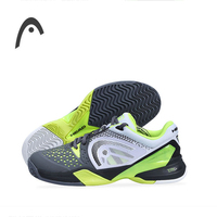HEAD Man S Tennis Shoes Fluorescent Green Breathable High Quality Professional Tennis Sneakers For Man Zapatillas