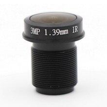 1,39 мм объектив 3,0 Мегапиксели 180 градусов MTV M12* 0,5 крепление инфракрасный Ночное видение объектива для видеонаблюдения Камера