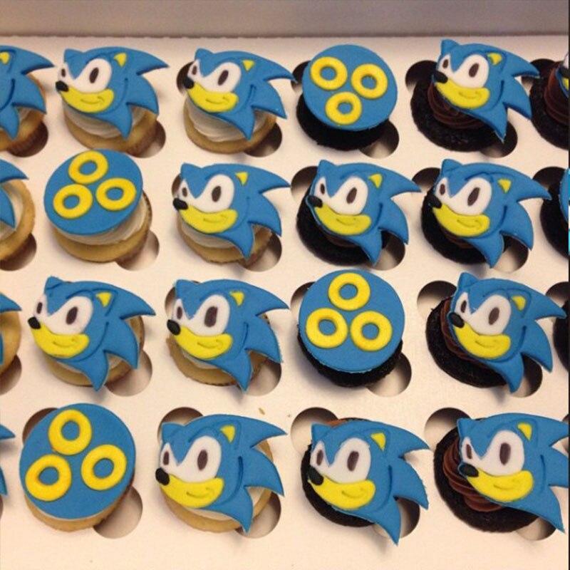 Cartoon Tv Animal Sonic Hedgehog Cookie Cutter Tools Made 3d