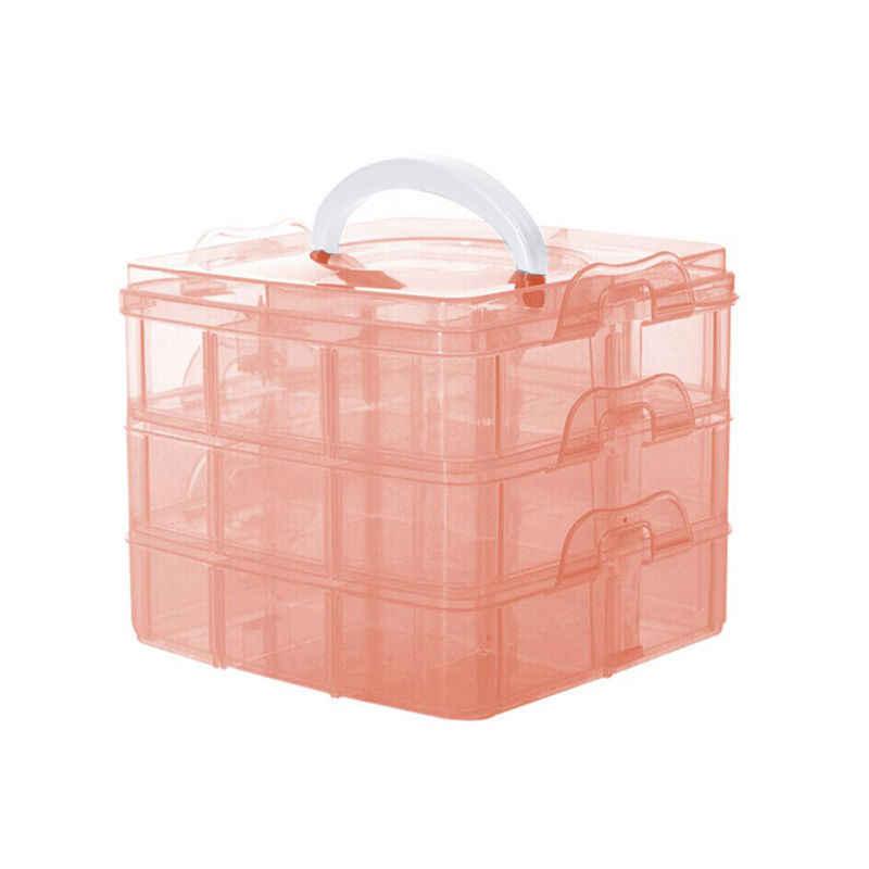 Przenośny 1 PC biżuteria Box pojemnik do przechowywania organizator narzędzia Box Case pudełka wysokiej jakości