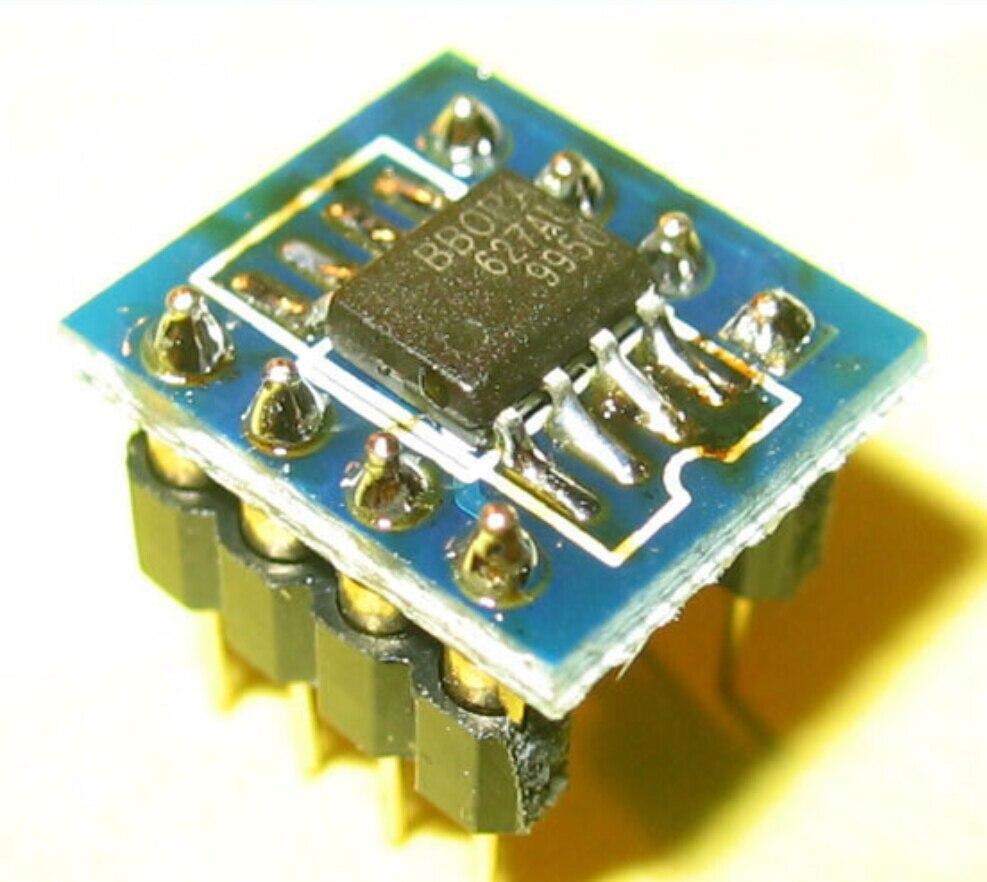 HIFI OPA627X2 dual op amp finished product upgrade NE5532 2604