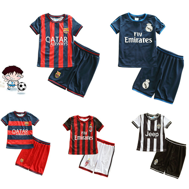 d77b14586 children s football sports suits summer boys girls shirt elementary training  suit breathable thin of paragraph 2