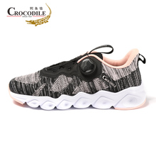купить Crocodile Women Running Sneakers Femme Cushioning Running Shoes for Women's Breathable Athletic Trainers Ladies Sport Shoes дешево