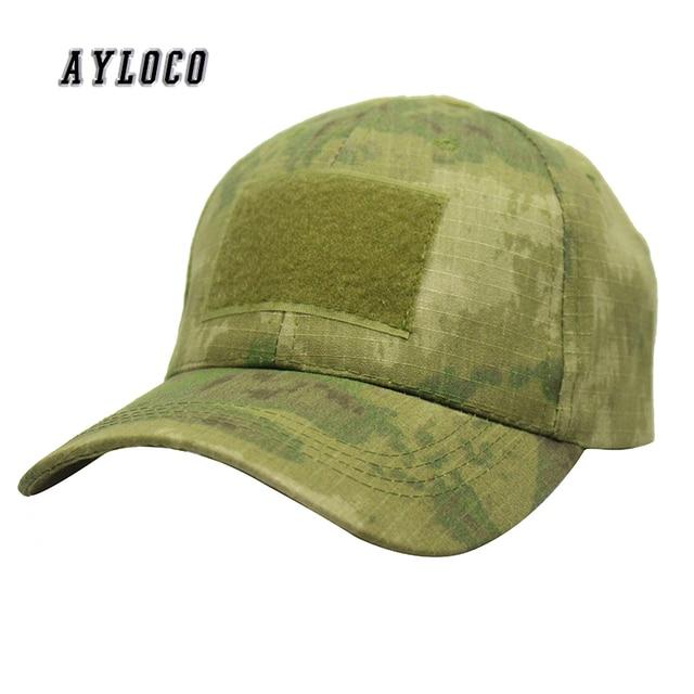 US $13 18   Classic Men Digital Camo Special Force Tactical Operator hat  Contractor SWAT Baseball Hat Cap US -in Baseball Caps from Apparel