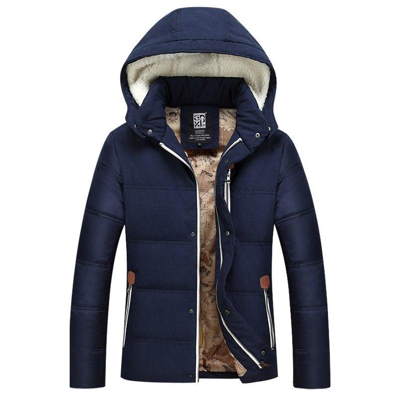 Mens Winter&Autumn Down Jacket Coat New Parkas Men Warm Mens Coat Down Jacket