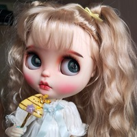 1/6 BJD 30CM Doll toys 19 joint Top Quality Chinese Doll BJD Ball Joint Doll Golden curly cute doll Have a beautiful look