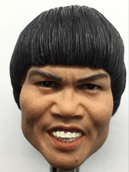 Ugly Man Head 1/6 Bobby Yip Cosplay Bruce Lee Head Sculpt for 12inch Phicen Tbleague Jiaoudoll Action Figure DIYUgly Man Head 1/6 Bobby Yip Cosplay Bruce Lee Head Sculpt for 12inch Phicen Tbleague Jiaoudoll Action Figure DIY