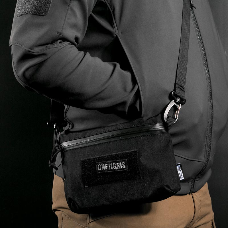 "OneTigris ""Paper-Thin"" Minimalist EDC Pouch As An Anti-theft Travel Wallet Concealed In Your Garments"